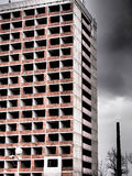 Deserted high rise building Royalty Free Stock Photography