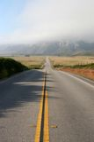 A deserted Highway 1 from Los Angeles  Royalty Free Stock Photography