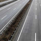 Deserted highway Royalty Free Stock Photography