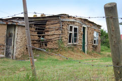 Deserted Home. African Settlement, Nemato Township, South Africa Royalty Free Stock Photo