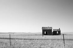 Deserted Homestead. Old, deserted homestead on a South Dakota plain Royalty Free Stock Photography