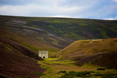 Deserted House in the Cairngorms Stock Photo