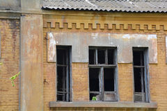 Deserted house closeup Royalty Free Stock Image