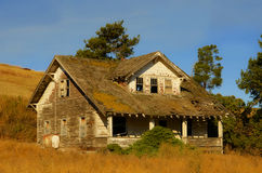 Deserted house in country Stock Image