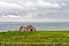 Deserted huts royalty free stock photo