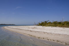 Deserted Island. Shoreline of a deserted island Stock Photography