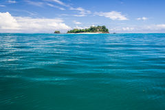 Deserted island Royalty Free Stock Images