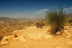Deserted landscape in Northern Kurdistan,. Deserted landscape with rocks in Northern Kurdistan, Eastern Turkey Royalty Free Stock Images