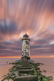 Deserted Lighthouse Stock Photo