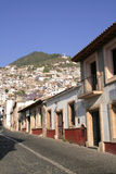 Deserted Mexican street Royalty Free Stock Photography