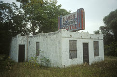 Deserted Motel, WI Royalty Free Stock Image