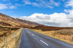 Deserted Mountain Road Royalty Free Stock Photo