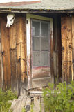 Deserted old homestead in summer in Centennial Valley near Lakeview, MT Royalty Free Stock Photography