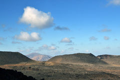 Deserted. One of the many volcanoes in Timanfaya National Park, Lanzarote