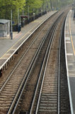 Deserted Platform 3 Royalty Free Stock Photo