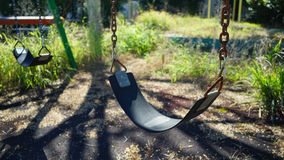 Deserted playground Royalty Free Stock Photography