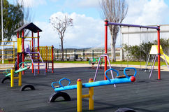Empty playground Royalty Free Stock Photo