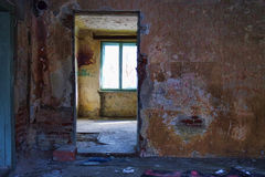 Deserted rooms Royalty Free Stock Photo