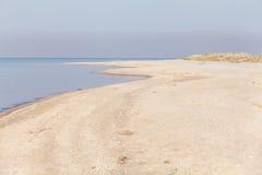 Deserted seascape in summer morning light Royalty Free Stock Photos