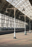 Deserted station Stock Image
