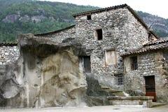 Deserted stone house Stock Photos