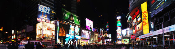 Deserted Times Square Stock Photography