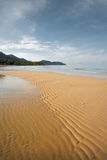 Deserted Tropical Beach Koh Chang V Royalty Free Stock Image