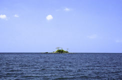 Deserted tropical island Stock Photography