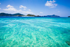 Deserted tropical islands of Okinawa Royalty Free Stock Image