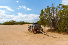 Deserted Wagon Stock Images