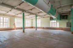 Deserted warehouse Stock Photo