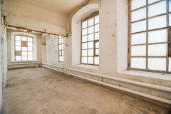 Deserted warehouse Royalty Free Stock Photography