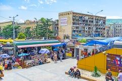 The Deserter`s Bazaar in Tbilisi Royalty Free Stock Photo