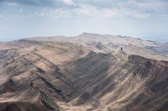 Desertera berg Arkivbild