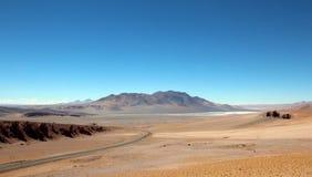 Desertera berg Royaltyfria Bilder
