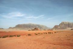 desertera safarien Royaltyfri Foto