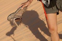 Desertera sanden arkivfoton