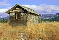 deserterad kabin Arkivfoton