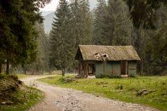 deserterad kabin Royaltyfri Bild