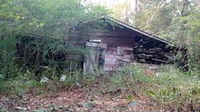 deserterad ladugård Arkivbilder