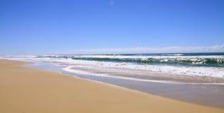 deserterad strand Royaltyfria Foton