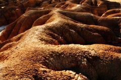 desertic ισπανική ζώνη περιοχών navarra Στοκ φωτογραφία με δικαίωμα ελεύθερης χρήσης