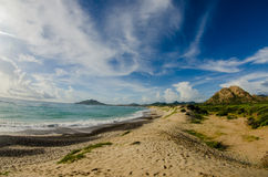 Desertic beaches Royalty Free Stock Photography