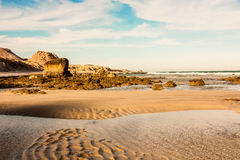 Desertic beaches Stock Images