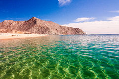 Desertic beaches royalty free stock photo