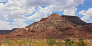 Desertic landscape of utah in the USA Stock Photos