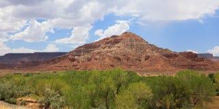 Desertic landscape of utah in the USA Stock Photo