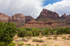 Desertic landscape of utah in the USA Royalty Free Stock Image