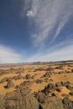 Desertic Landschaft stockfotos