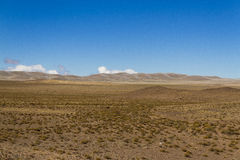 Desertica vast plateau in the mountains Stock Image